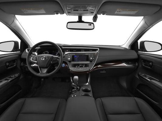 2015 toyota avalon limited interior